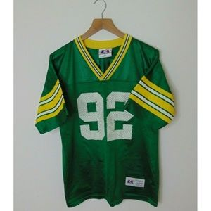 Vintage Logo Athletic XL Green Bay Packers Jersey